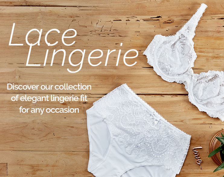 Lace Lingerie : 30%off your 2nd item and following*