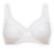 Full cup bra 86% cotton