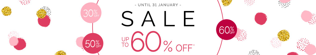 Sale - Now up to 60% off*