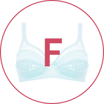 Cup size F
