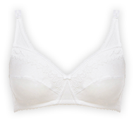 Non-wired full cup bra 86% cotton