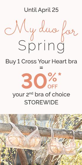 Cross Your Heart Bra - 30% Off Bras - PLAYTEX