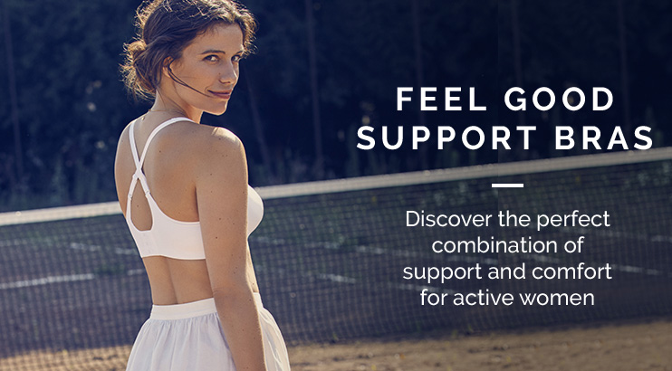 Feel good support bras - Discover the perfect combination of support and comfort for active women