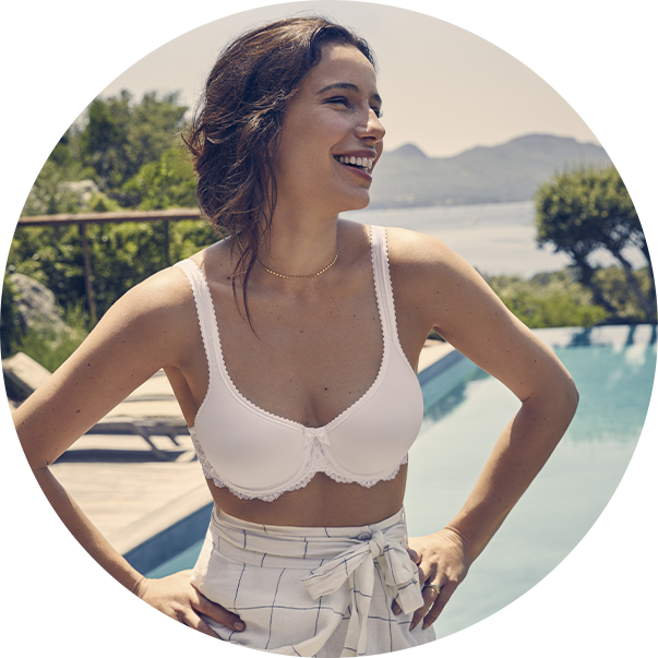 Spacer Bra Flower Elegance Playtex