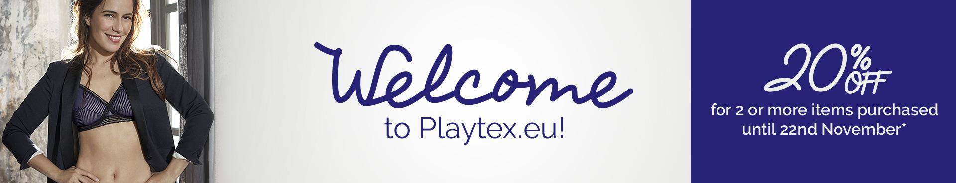 Bienvenue sur Playtex.eu !