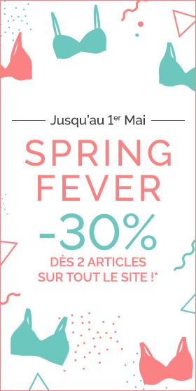 Spring Fever - 30% dès 2 articles sur TOUT le site* - PLAYTEX