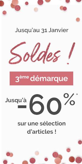 SOLDES- jusqu'à -60%*- PLAYTEX
