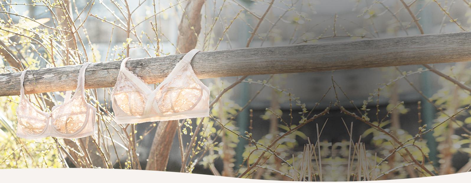 Soutien-gorge dentelle Invisible Elegance de Playtex